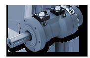 Silnik hydrauliczny obrotowy SM4
